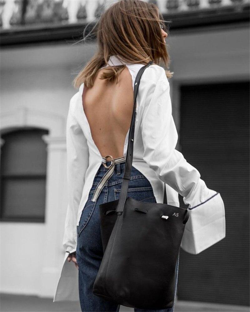 Blanc Lacets Sexy Coton Flare D'été Top Chemise Femmes Chemisiers zoux Manches 2019 À White Z Chemises Dos Mode Pour Haut Nu Femme xZvBxwYf