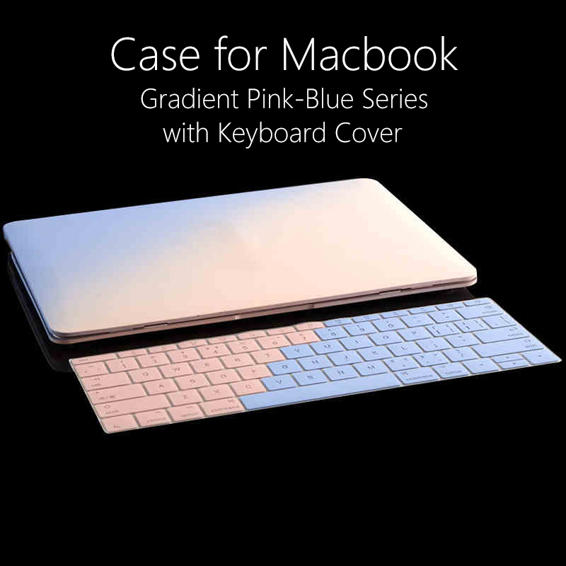 New Arrival Matte Hard Case for Macbook Pro 13 15 Laptop Bag Cases with Keyboard Cover for Mac Book Air 11 13 Case Shell