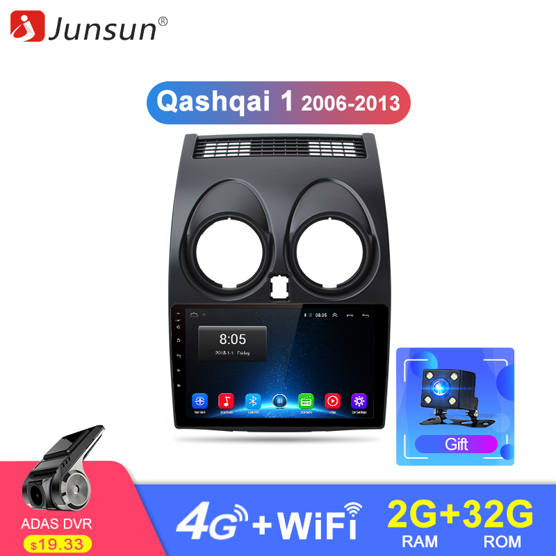 Junsun 2G 32G Android 8.1 4G Car Radio Multimedia Video Player Navigation GPS