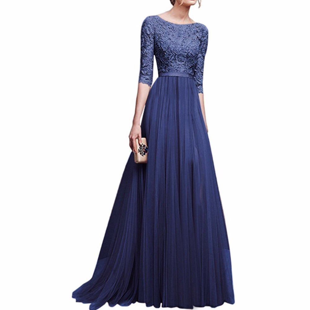 2018 Elegáns esküvő Bridemaid bts Slim Vestidos ruha Női ruhák - Női ruházat