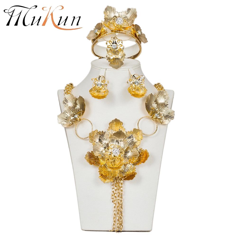 MUKUN Flower Indian Jewelry...