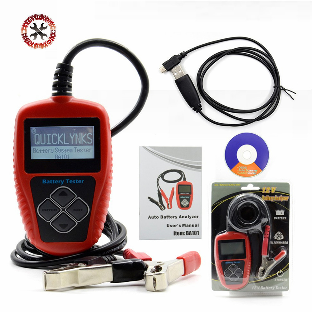 Vehicle Battery Tester : New arrival quicklynks ba automotive v vehicle