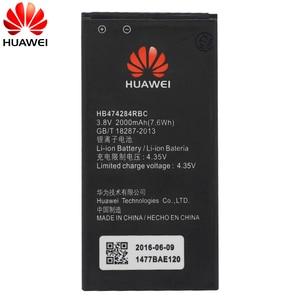 Image 3 - Hua Wei Original Telefon Batterie HB474284RBC Für Huawei y550 y560 y625 y635 g521 g620 y5 C8816 honor 3c lite 2000 mAh