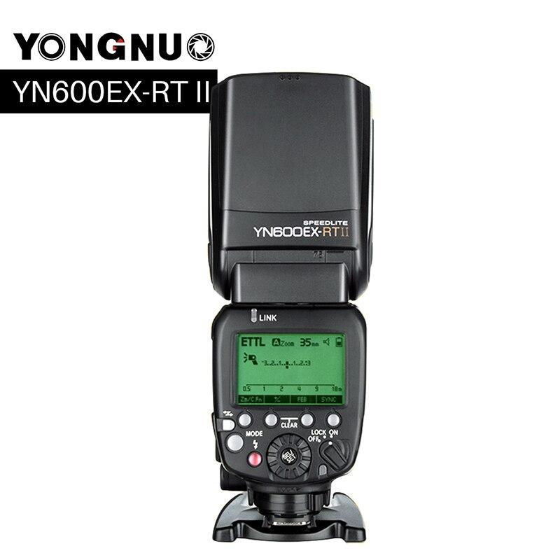 Фотовспышка Yongnuo YN-600EX-RT II для Canon Беспроводной HSS 1/8000s Ведущая Вспышка для Камеры Canon как 600EX-RT YN600EX RT