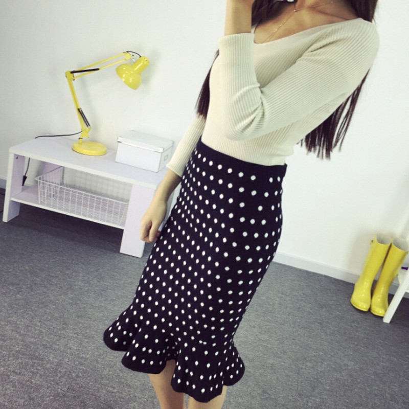 Elastic Waisted Skirt 105