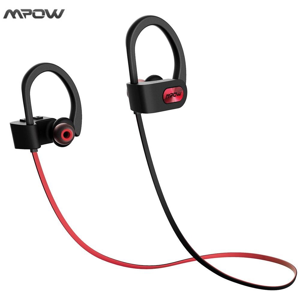 Mpow Bluetooth Kopfhörer Wasserdicht Sweatproof Sport Läuft ...
