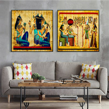 Egypt Classic Vintage Artwork Posters and Prints Wall art Decorative Picture Canvas Painting For Living Room Home Decor Unframed