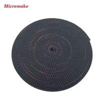 Micromake 3d аксессуары для принтеров 6 мм шириной и 2 мм шаг transmation gt2 синхронный ремень