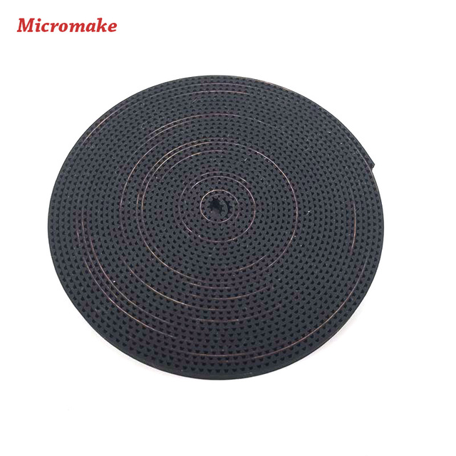 Micromake 3D Printer Accessories 6 mm Wide and 2 mm Pitch GT2 Transmation Synchronous Belt