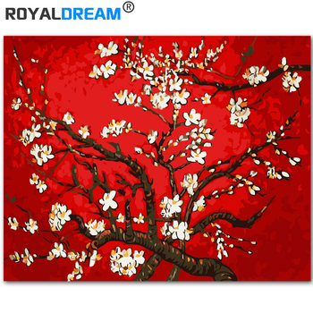 Royaldream Van Gogh Kayısı Kırmızı Tarafından Diy Boyama By Numbers