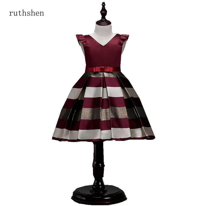 c210c13c2850 Maroon Flower Girl Dresses – Fashion dresses