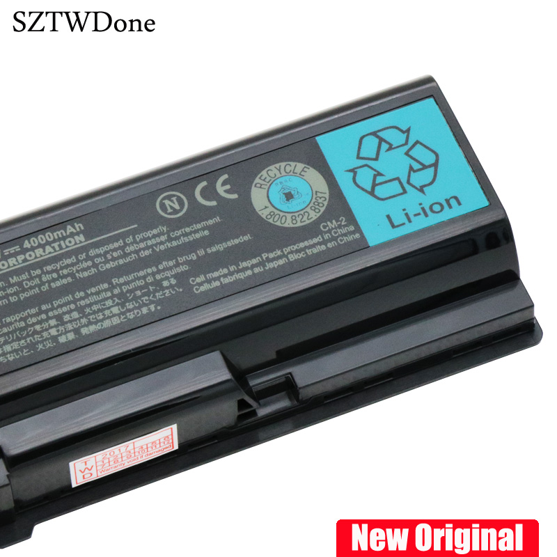 New Original PA3534U-1BRS Laptop battery for TOSHIBA A200 A300 L200 L305 A210 A350 L400 L500 M200 L300 L500 L450 L550 A500 L555