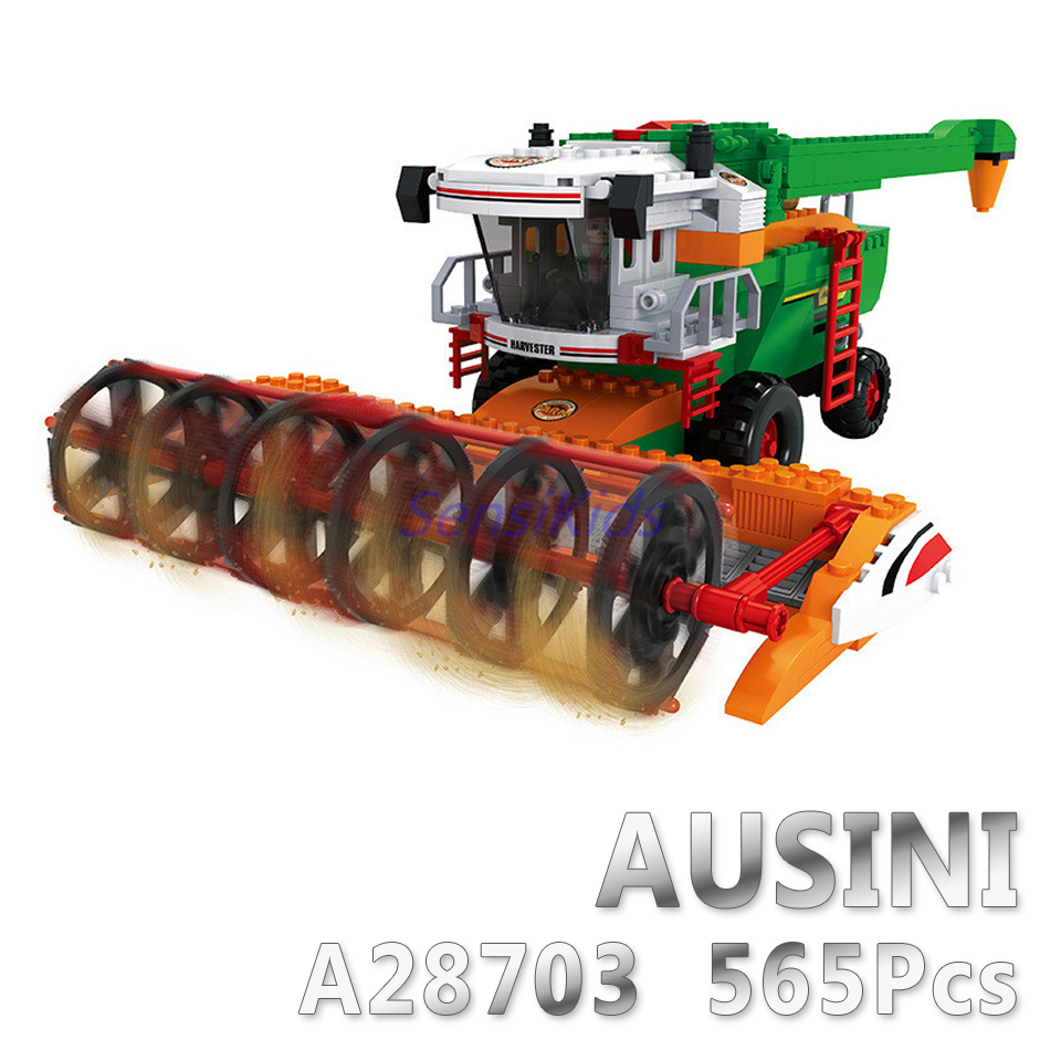A Models Building toy Compatible with Lego A28703 565pcs Happy Farm Blocks Toys Hobbies For Boys Girls Model Building Kits a models building toy compatible with lego a28002 838pcs happy farm blocks toys hobbies for boys girls model building kits