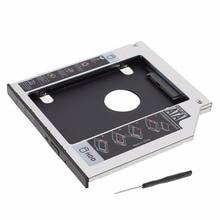 9.5mm Universal Serial ATA 2nd HDD SSD hard disk drive caddy bay For Lenovo ThinkPad Edge E531 E431 L410 L412 L421 Series lapto цена и фото