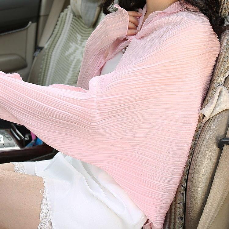 2019 Summer Women Sunscreen pashmina   scarf     wrap   Shawl soft Chiffon Beach   Scarves   Bikini Coverup driving   scarf