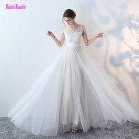 New Arrival Vestido De Novia Lace And Satin Bride Wedding Dress 2017 Princess Beading Sashes Wedding