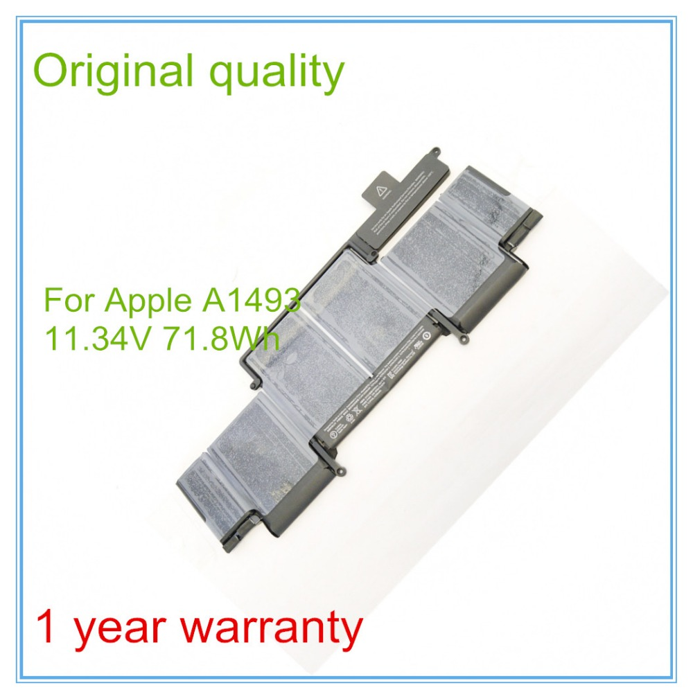Original NEW Battery A1493 for Retina 13 A1502 2013 ME866LL/A 2013 year lmdtk new laptop battery for apple retina me293 me294 a1494 a1398 2013 2014 year