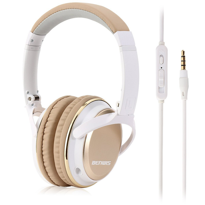Professional H6 3.5mm Wired Monitor Music Hifi Headphones Foldable DJ  Headset With Mic Bass Noise Isolating Stereo Earphones-in Earphones    Headphones from ... 5427a2382c91