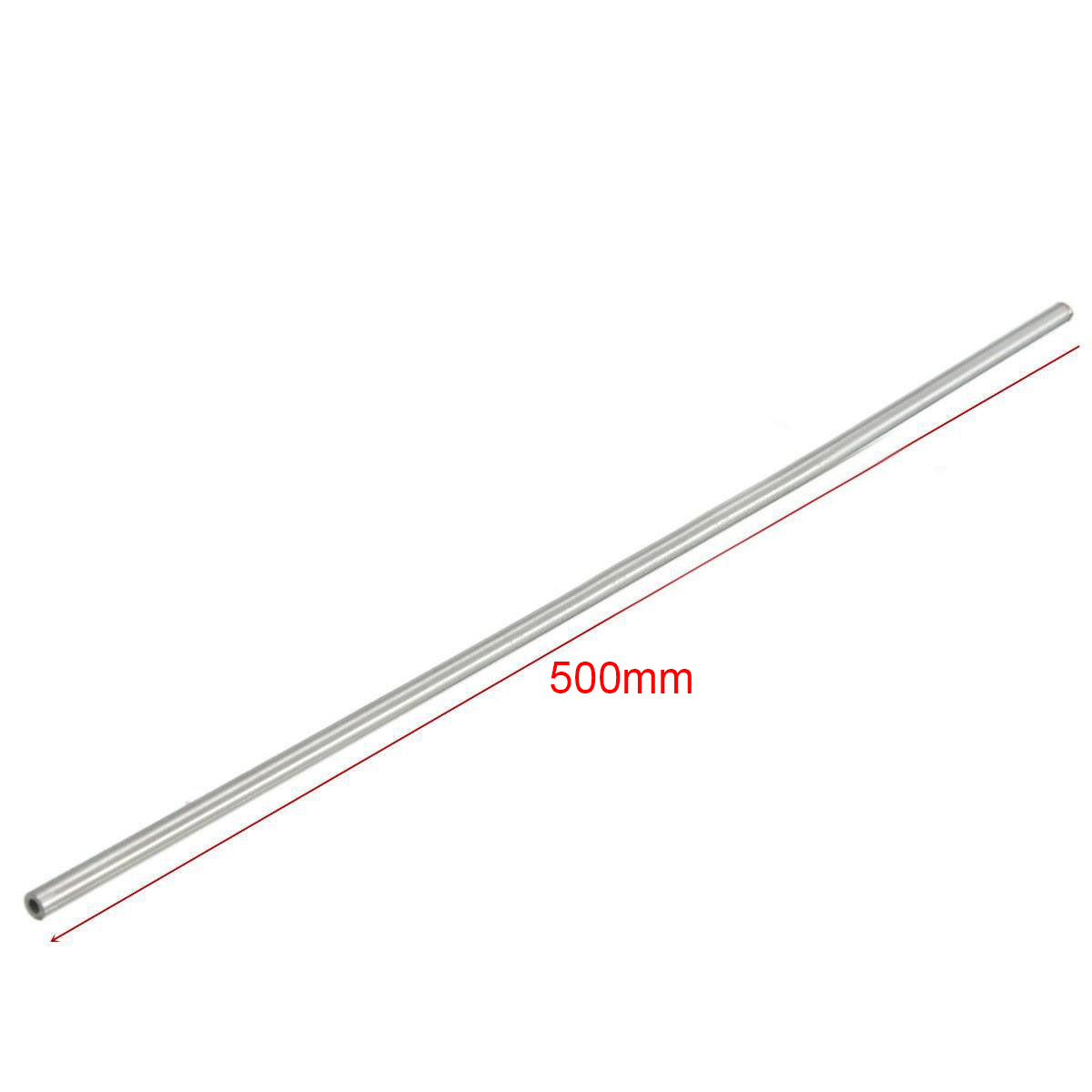 2pcs New 304 Stainless Steel Tube Silver Capillary Tubes 2mm OD 1.6mm ID 500mm Length