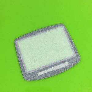 Image 2 - 게임 보이 어드밴스 gba 시스템 교체 스크린 렌즈 보호대 플라스틱 물질 자체 adhensive