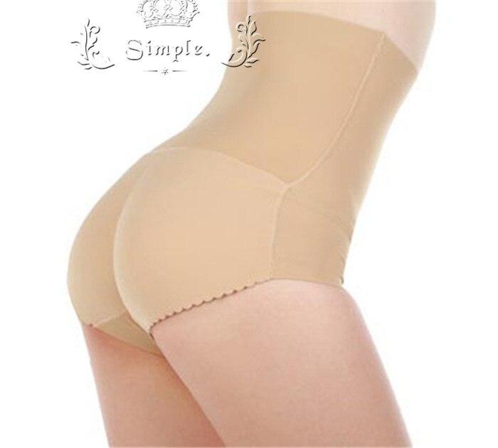 Butt Enhancer Body Shaper Panties Padded High Waist Briefs Women Slim Underwear