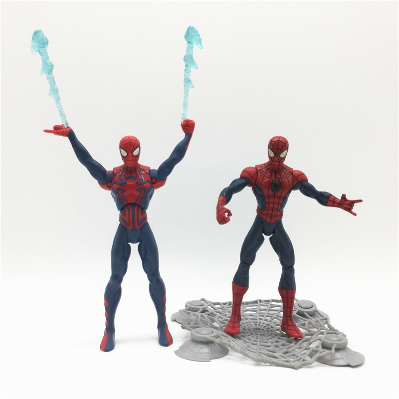 Spiderman action figures The Amazing Spider-Man 2 Avengers ultimate spider man 5'' Free shipping (Z506) ultimate spider man ultimate collection book 4