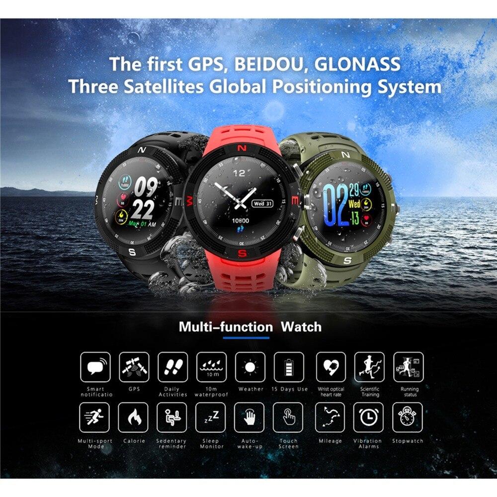 SZMUGUA Bluetooth montre intelligente Tracker de remise en forme avec GPS moniteur de fréquence d'écoute sport montre intelligente bracelet Android IOS pour femme hommes