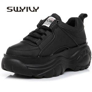 SWYIVY Shoes Woman High Platfo