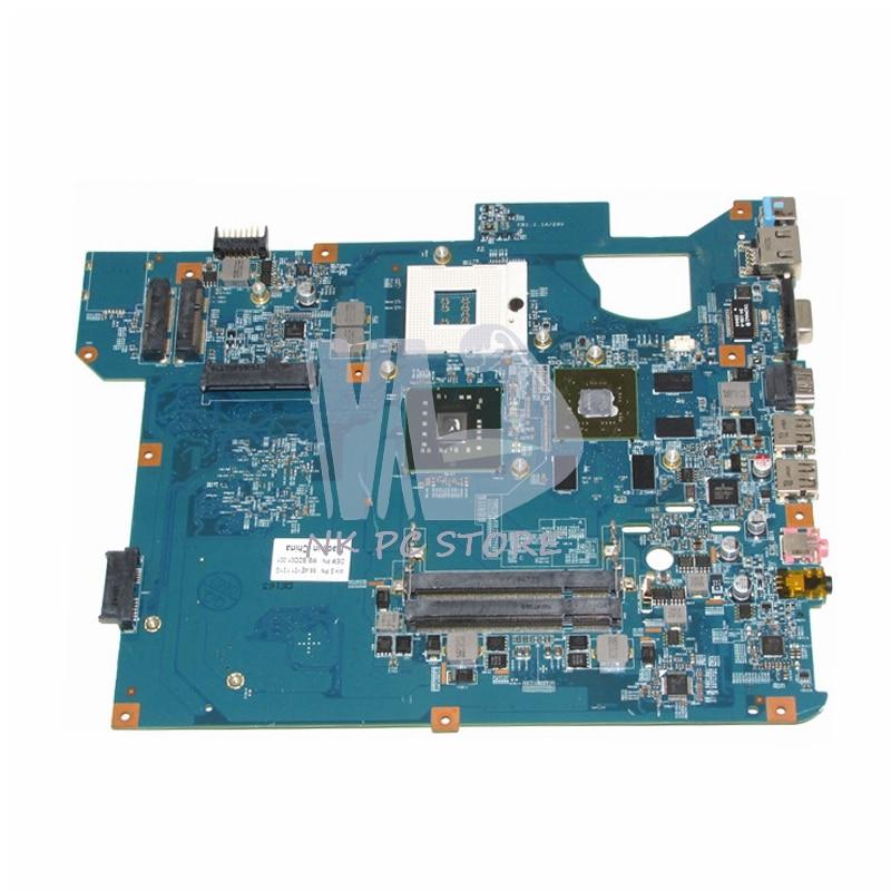 MBBDD01001 MB.BDD01.001 For Acer packard bell TJ65 Laptop Motherboard 48.4BU04.01M GM45 DDR2 GT240M GPU Free CPU laptop keyboard for acer silver without frame bulgaria bu v 121646ck2 bg aezqs100110