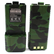 Baofeng Li-ion Interphone 3800mAh Battery Camouflage for UV-5R Plus UV-5R UV-8HX UV-5RB UV-5RE UV-5RA  or  ZT-V8A+
