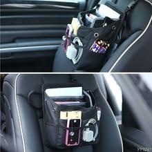 -Tirol 1PC Waterproof Car Seat Organizer Holder Storage Bag Hanger Back Black Durable G6KC
