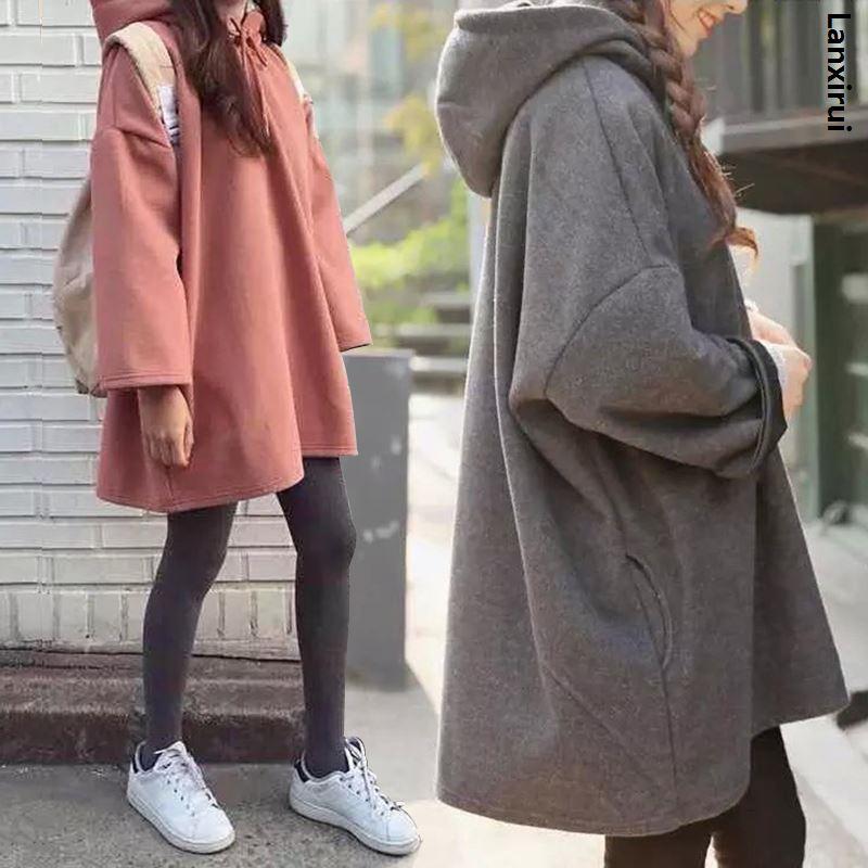 Long Hooded Tops