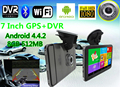7 inch Android 4.4.2 Vehicle GPS Navigation 800*480 Capacitive Screen Android Table PC DVR Car GPS Navigator
