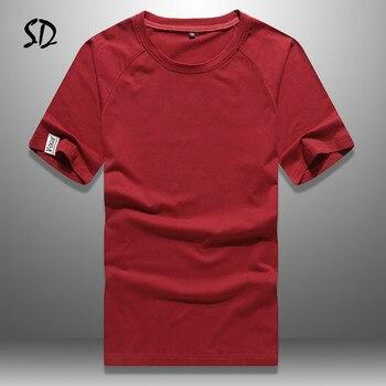 Europe Size Summer T Shirts Men Solid Casual Tshirt Man Breathable Mens Tee Sportswear Short Sleeve