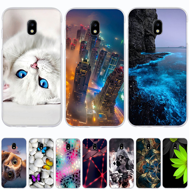 Case For Samsung Galaxy J3 2017 Case Silicone Coque for Samsung Galaxy J3 2017 Cover for Samsung J3 2017 j330F 5.2