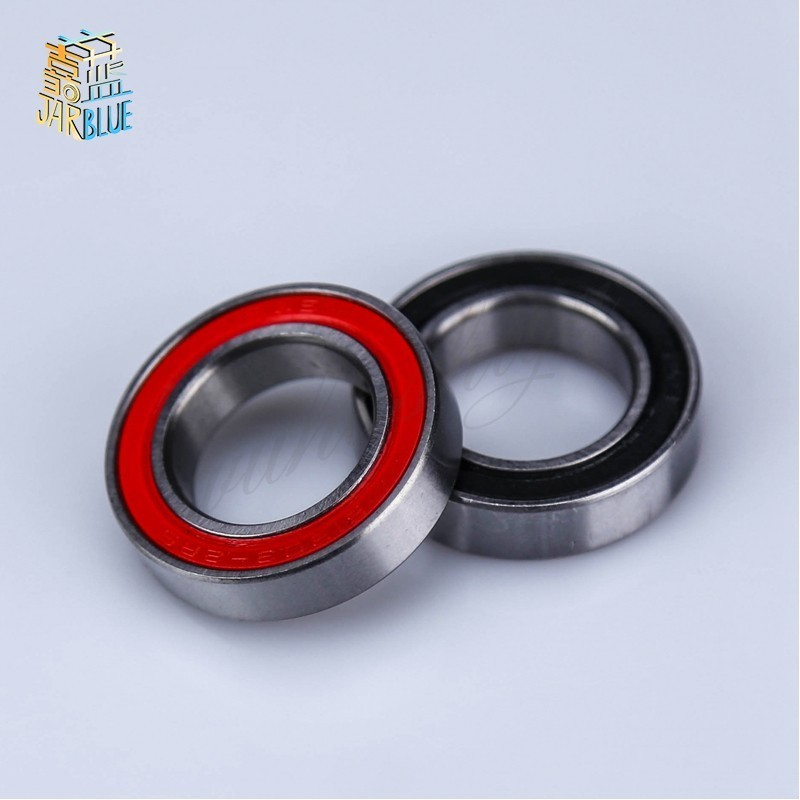 Free Shipping 10pcs 15*24*5mm  6802-2RS 6802 RS 15x24x5mm High Quality 61802 2RS Bike Bicycle Bearing