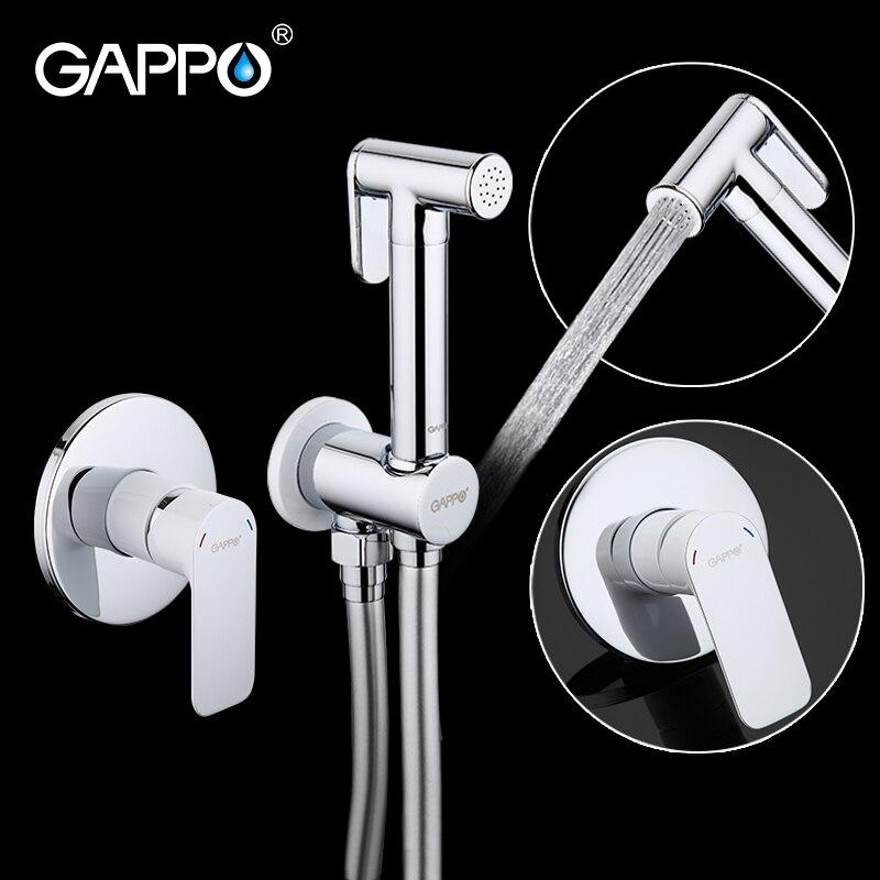 Gappo Bidet robinets en laiton salle de bains robinet de douche bidet toilette pulvérisateur Bidet toilette laveuse mélangeur douche musulmane ducha higienica G7248