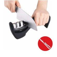 free shipping Handheld knife grinder Professional Kitchen Knife Sharpener Knife Slicker for Knives Scissors Cutters grinding
