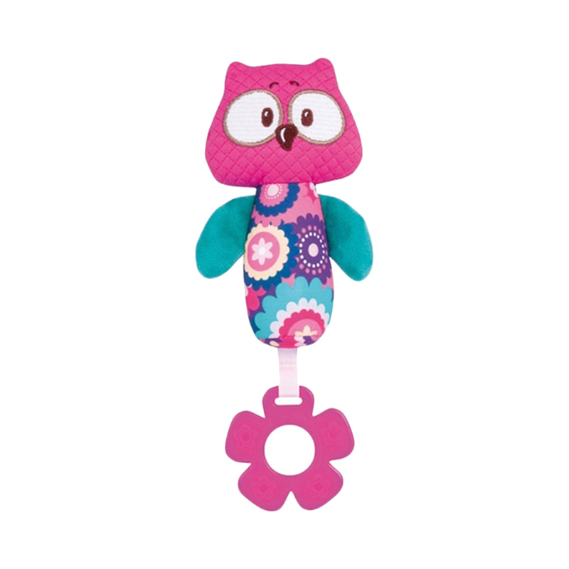 Baby Rattle Canpol Babies Soft toy squeaker Forest Friends Owl, 0+ bela 10547 friends heartlake grand hotel andrea olivia stephanie building blocks bricks toy children gifts friends 41101