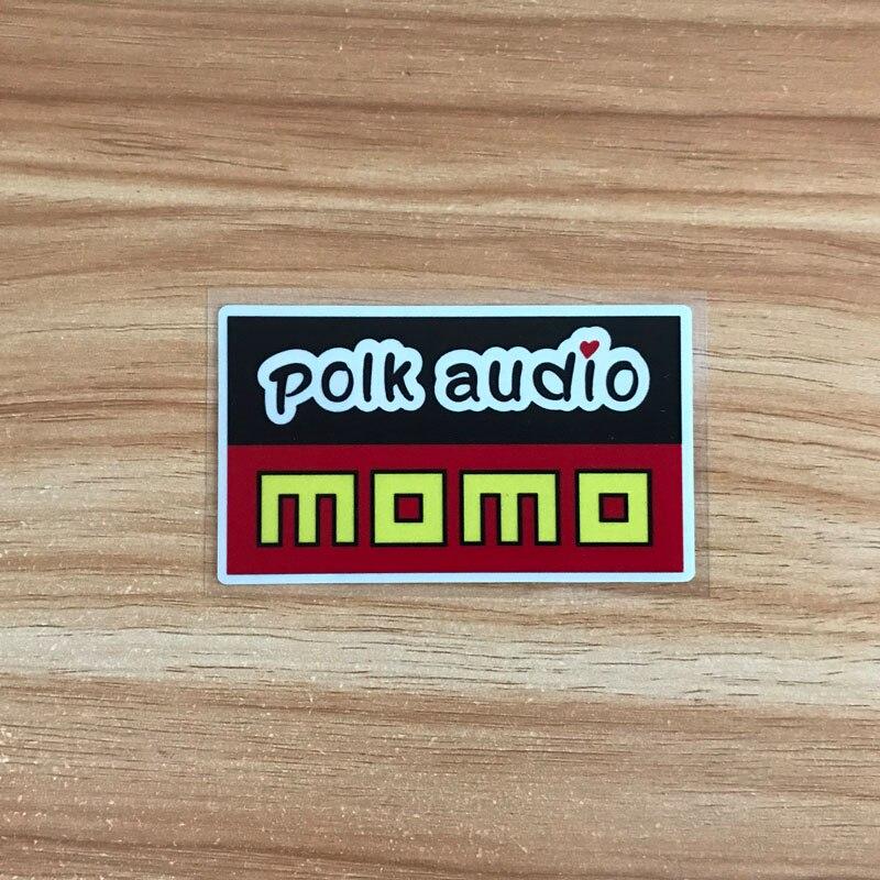 MOMO Emblem Car Sticker PVC Reflective Sticker For Toyota Honda Nissan Mitsubishi Suzuki Mazda Accessories