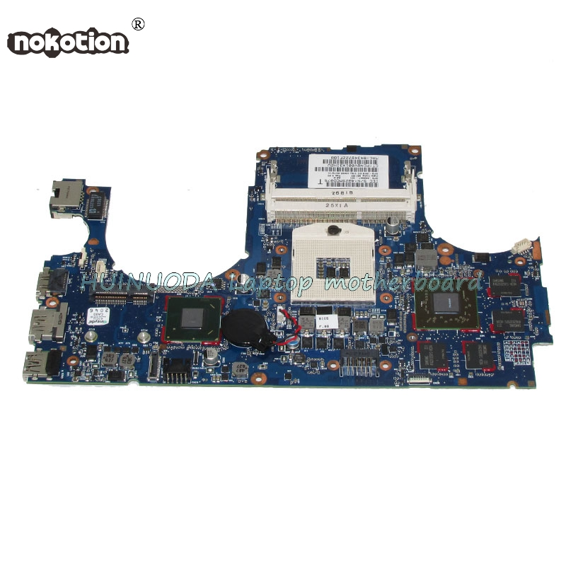 NOKOTION 668847-001 Laptop motherboard For HP ENVY 15 15-3000 Main Board HM65 HD6570 1G DDR3 702901 501 702901 001 690225 001 main board for hp envy m4 m4 1000 laptop motherboard slj8c hd4000 ddr3
