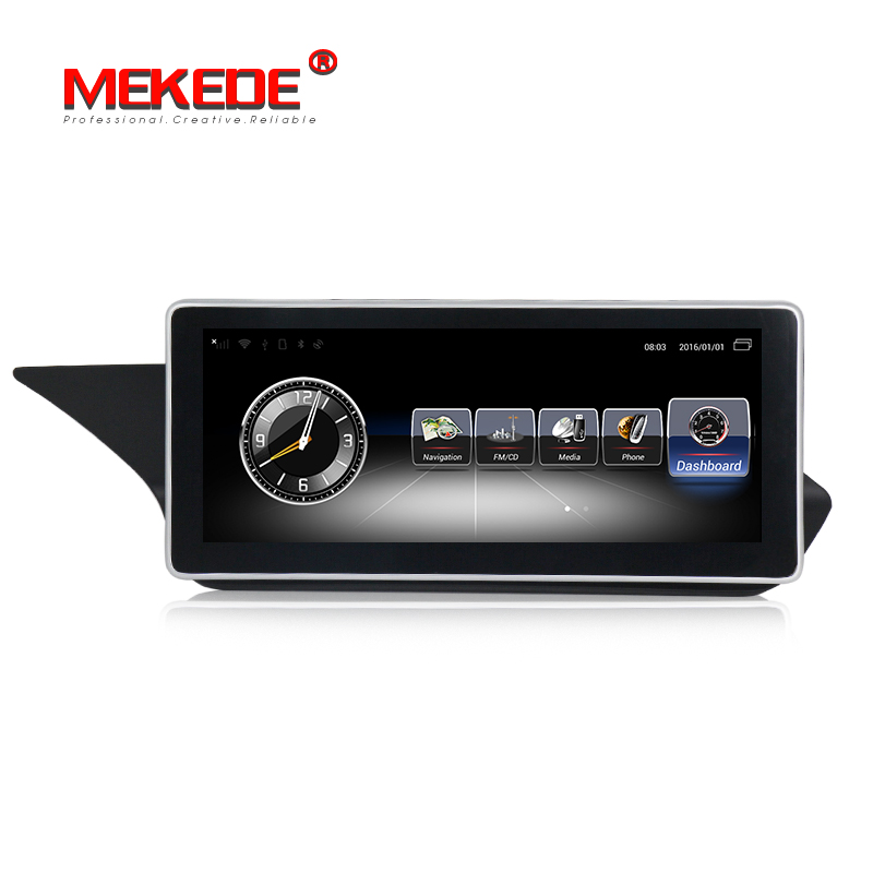 3G+32G Android7.1 Car DVD GPS <font><b>Multimedia</b></font> Player For <font><b>Mercedes</b></font> Benz E-Class sedan <font><b>W212</b></font> 2009-2015 radio Video Audio Car Player image