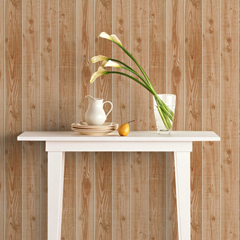 Photo Wallpaper 3D Wood Board Texture Wall Paper For Walls 3D Living Room Bedroom Clothing Store Background Wall PVC Wallpapers japanese style wallpapers for living room 3d flooring wood wall paper pvc living walls wallpapers roll 3d wall murals wallpaper