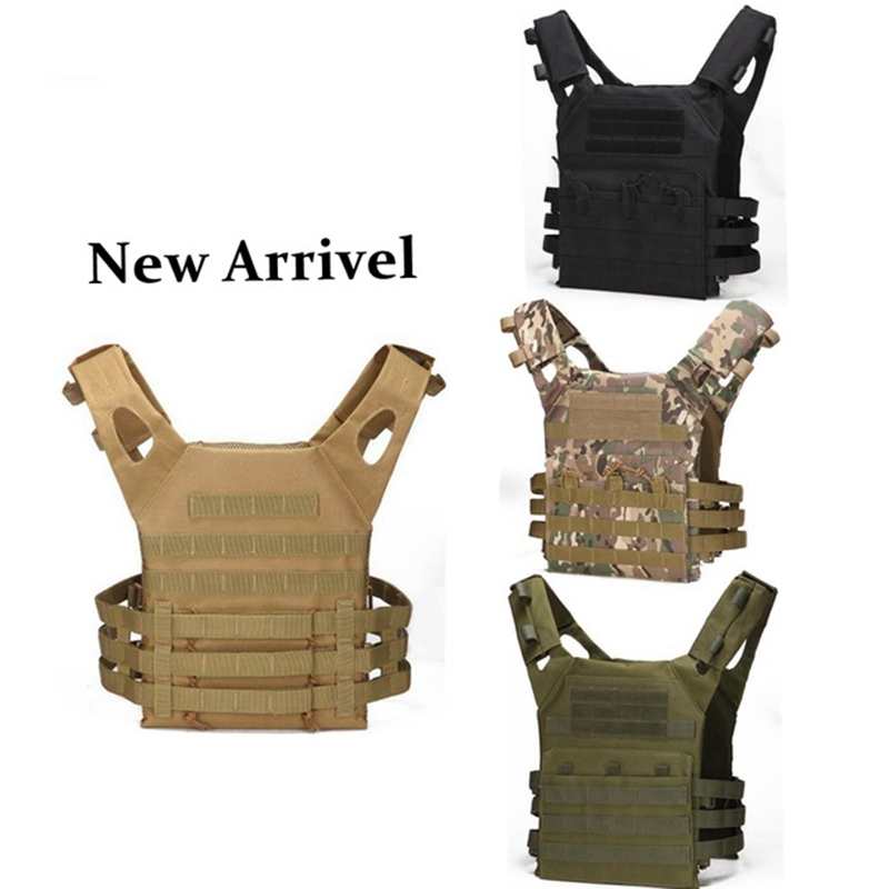 Wholesale Military Tactical Plate Carrier Ammo Chest Rig JPC Vest Airsoftsports Paintball Gear Body Armor for