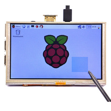 Buy online 5 inch LCD Touch Screen Display Panel Module HDMI 800*480 for Raspberry Pi 3/A+/B+/2B