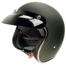DOT Vintage Motorcycle font b Helmet b font Motocicleta Cacapete Casco Casque Harley font b Retro