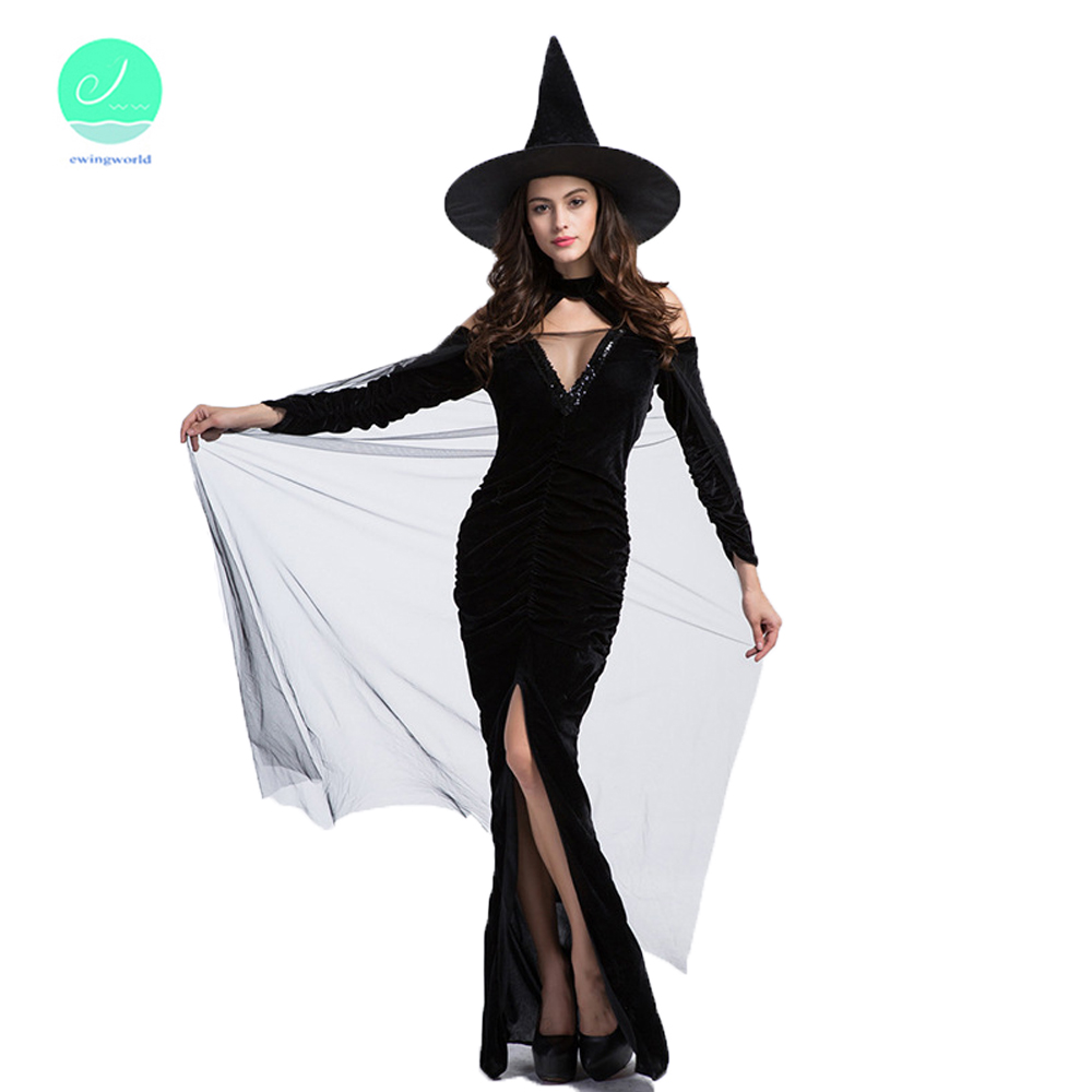 Popular Autumn Witch Costume-Buy Cheap Autumn Witch Costume lots ...