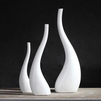 Online Shop Nordic Handmade Abstract Ceramic Creative Bent Bottle