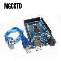 МЕГА 2560 R3 CH340G Mega2560 REV3 ATmega2560-16AU плата + USB кабель