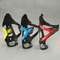 2pcs LOT FUTURE Carbon Fiber Mountain Road Bike Cycling Outdoor Water Bottle Drink Holder Holding Rack
